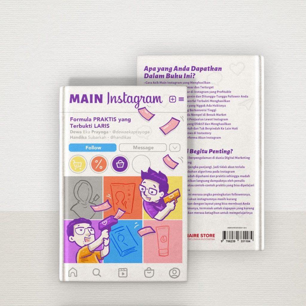 buku main instagram Formula Praktis Yang Bikin Laris