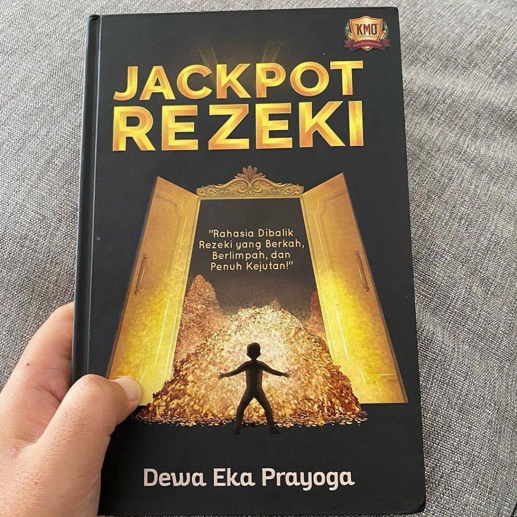 Yuk miliki dan sumbangkan buku ke-14 Dewa Eka Prayoga! JACKPOT REZEKI Rahasia Dibalik Rezeki yang Berkah, Berlimpah dan Penuh Kejutan!